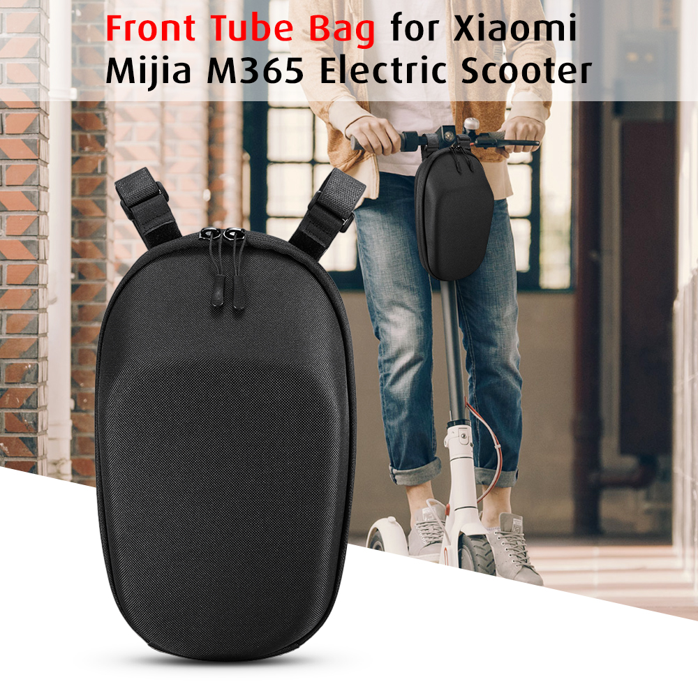 Electric Scooter Front Tube Bag Large Capacity Front Pouch Tools Cellphone Storage Bag For Xiaomi Mijia M365 Electric Scooter