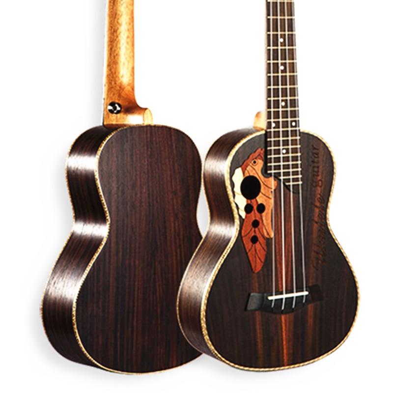 Ukelele Hawaiano de 23 pulgadas Mini Rosewood Guitarra 4 Cuerdas Ukelele instrum