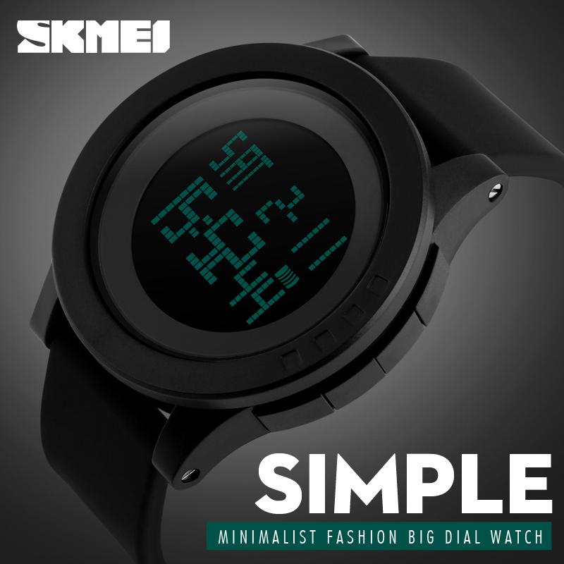 2016 New SKMEI Simple Brand Men Military Sports Watches