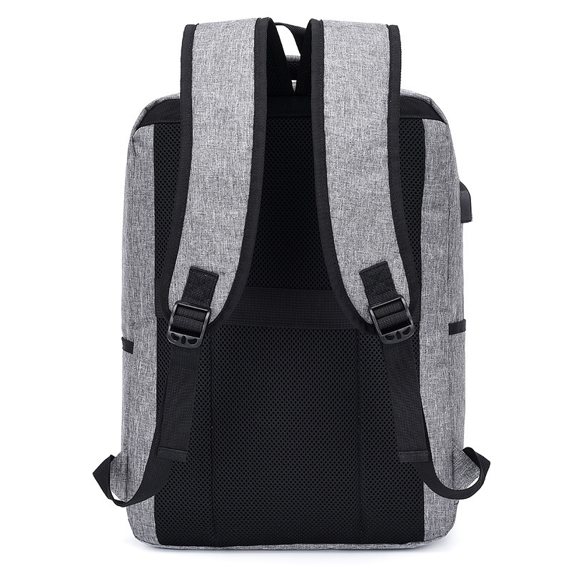 2019 Trend Leisure Time Both Shoulders laptop anti theft Backpack men Will Capacity Travel Man Backpack Can Charge Backpack in Backpacks from Luggage Bags