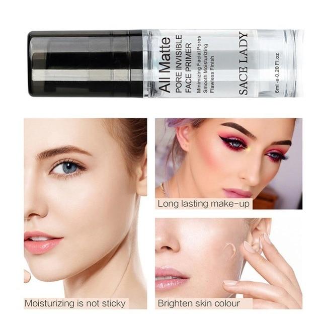 SACE LADY Full Cover 8 Colors Liquid Concealer Makeup 6ml Eye Dark Circles Cream Face Corrector Waterproof Make Up Cosmetic Base 2