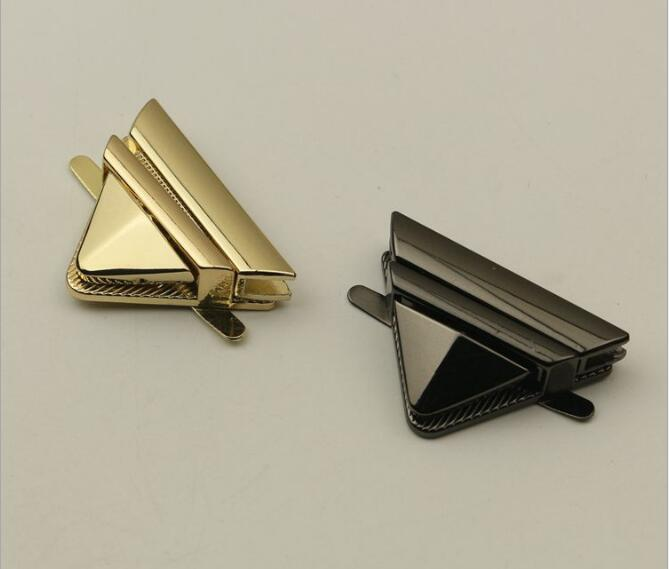(10 Pieces/lot) Wholesale Handbags Shoulder Bags Both Sides Linkage Button Metal Hanger Hook Hardware Accessories