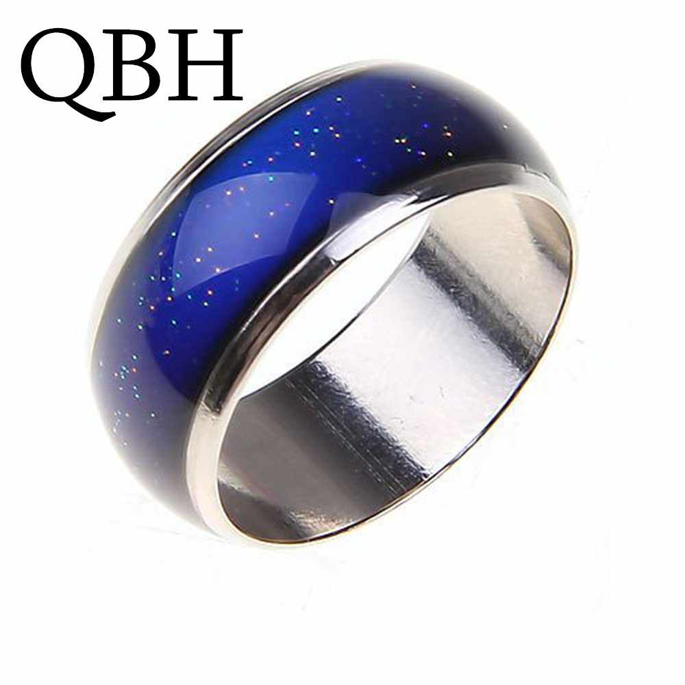 New Creative Color Changeable Ring Temperature Emotion Feeling Mood Rings for Women Men Jewelry Best Girl Gifts Fashion Jewelry