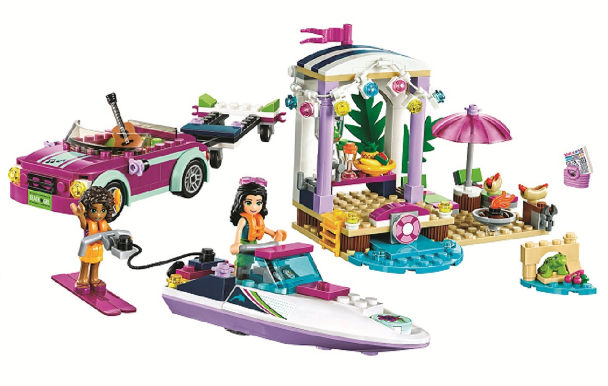 Heart Lake Andreas Speedboat 41316 Building Blocks Model Toy For Children 10758 Compatible Friends Brick Figure Educational SetHeart Lake Andreas Speedboat 41316 Building Blocks Model Toy For Children 10758 Compatible Friends Brick Figure Educational Set