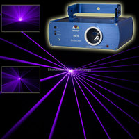 Neue Lila/Violetten Laser Linie Abtaststrahls DMX DJ Tanzbar Xmas Party Disco Lichteffekt Bühnenscheinwerfer Anzeigen System x11