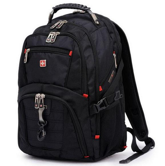 "swiss army knife backpack military 15.6"" laptop bag men"