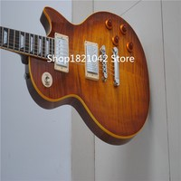 High Quality Guitar Products Envo Gratis China Gbson Color Amarillo Le Chino Pal Lp Guitarra Electrica