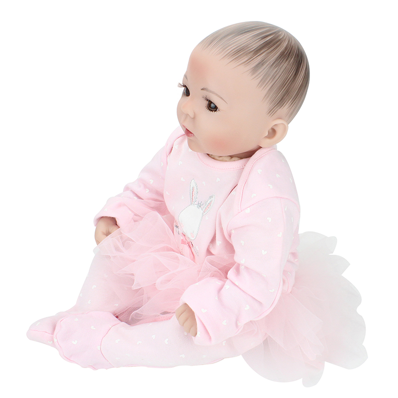 20Inch 50cm Bebe Reborn Baby Doll Realistic Real Looking Silicone Reborn Babies Doll Reborn Fashion Kids Toy Brinquedos Juguetes npkdoll bebe reborn baby doll realistic soft silicone reborn babies juguetes girl 22 inch 55cm adorable kids brinquedos toy