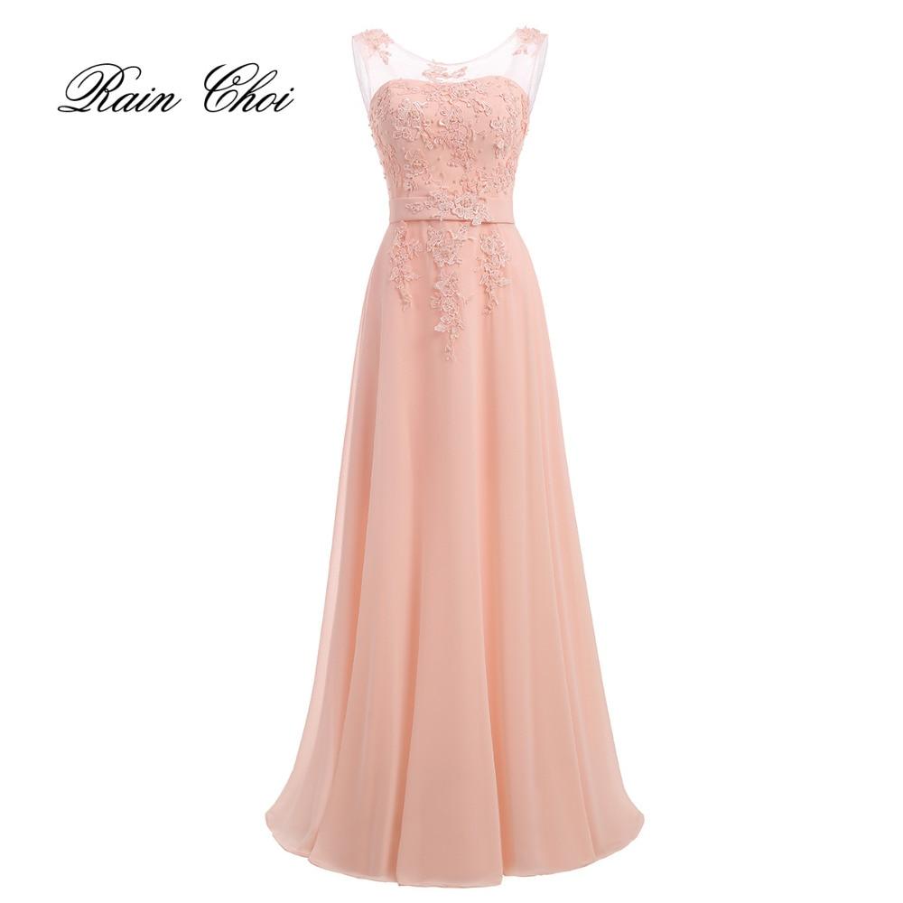 8898655d9c Długość podłogi szyfon długa suknia dla druhny suknia 2019 nowych mody  formalne suknie druhna