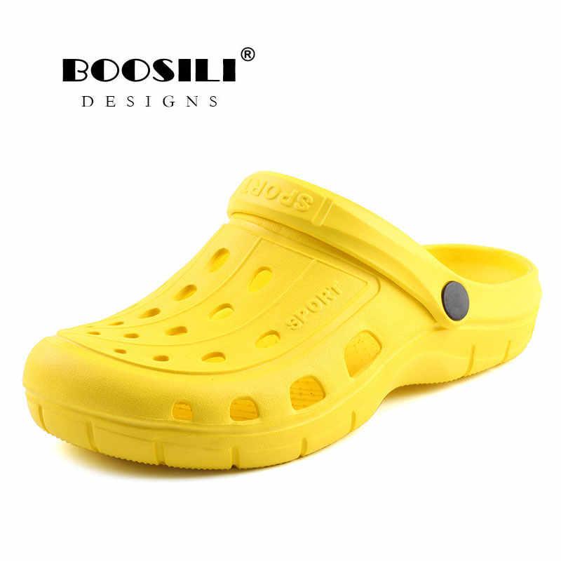 2019 Mulher Sapatos סנדלי Eva אמיתית Sapato Feminino מכירה לוהטת כפכפים נעליים באיכות גבוהה לנשימה גן גברת של קל משקל