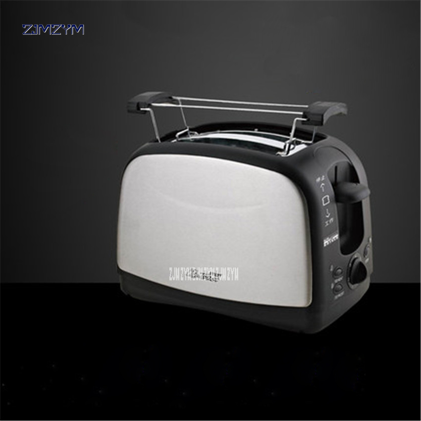 WST-998 Household Automatic Bread Toaster Baking Bread Maker Machine 2 Slices Slots Stainless steel Multifunctional 220V/50hz bread toaster baking breakfast machine abs stainless steel 2 slices slots bread maker wst 918 household automatic 220v 50hz 700w