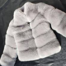 19b02ca5647c7 New Winter Coat Women Faux Fox Fur Coat - eezymart