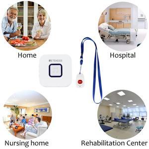 Image 4 - Беспроводной пейджер Retekess, кнопка вызова SOS, оповещение о звонках медсестры, система помощи для пожилых людей
