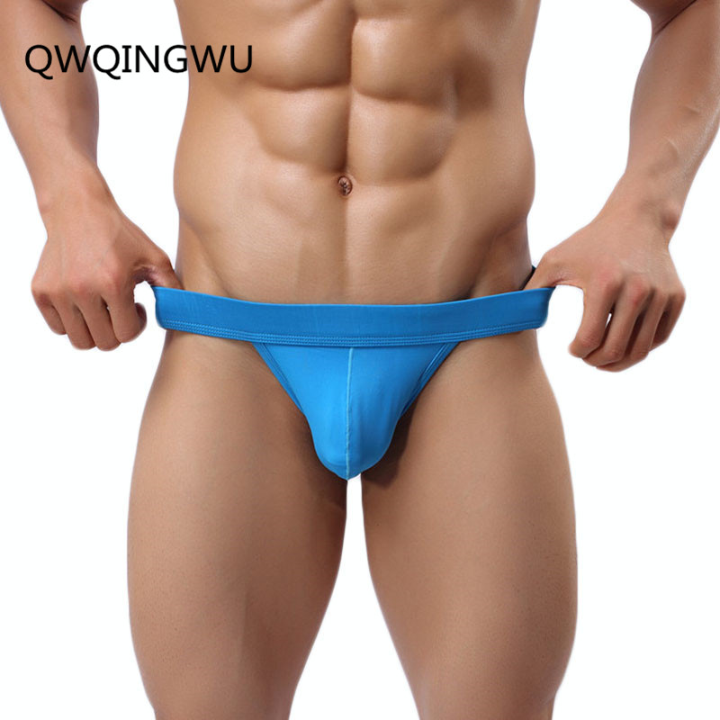 Sey Men Briefs Underwear Brief Seemless Nylon Slip Thin Summer Breathable High Fork Briefs Sexy Male Panties Underpants