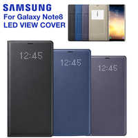 For SAMSUNG Original LED View Cover Smart Cover Phone Case for Samsung Galaxy Note 8 N9500 Note8 N950F SM-N950F Original
