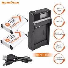 лучшая цена 2Pcs NPBX1 NP-BX1 NP BX1 Battery Packs + LCD  USB Charger for Sony DSC RX1 RX100 AS100V M3 M2 HX300 HX400 HX50 HX60 GWP88 L20