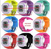 1pc Sports Silicone Replacement Strap for Forerunner 10  Forerunn 15  F10 /F15Watch Replacement Band with Tools.  free ship.