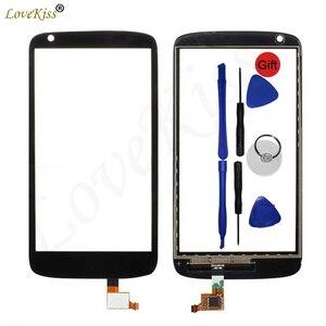 Image 1 - D526 Touchscreen del Pannello Frontale Per HTC Desire 526 526g Sensore Touch Screen Display LCD Digitizer Copertura Esterna In Vetro TP di ricambio