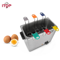 ITOP Electric Egg Boiler Stainless Steel Egg Cooker 30 Eggs Capacity Kitchen Boiler Cooking Machine With 6 Egg Baskets|Food Processors|   -