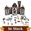 LEPIN 07055 The Arkham Asylum DC Super Heroes Batman Movie Joker Building Blocks Toys For Kids