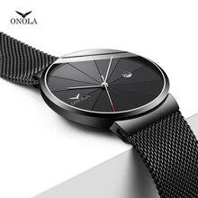 купить Montre Reloj Mujer Quartz Watch Ultra-thin men's watch Mesh Stainless Steel waterproof Casual Wrist Watches Masculino Relojes по цене 580.96 рублей