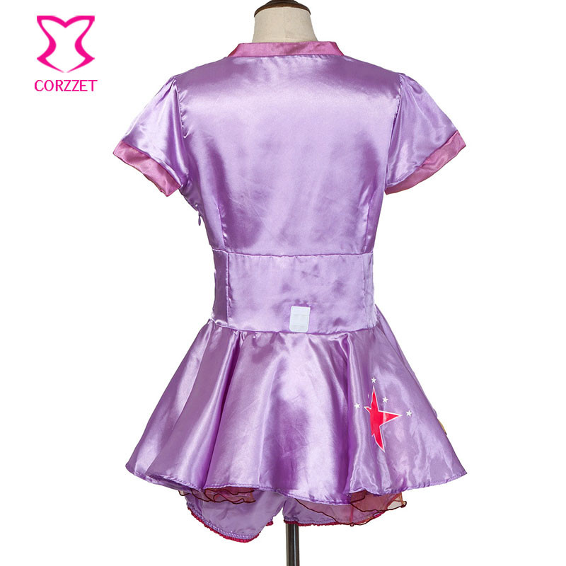 NEW Purple Adult Carnival Games Party Animal Role Playing Outfits ...