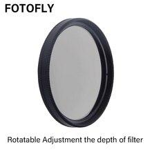 FOTOFLY CIR PL filtr 28 37 40.5 46 49 52 55 58 62 67 72 77 82mm dla Canon Sony nikon CPL polaryzacji filtry soczewek dla Pentax Fuji