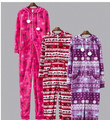 Con capucha y Footed Pijamas Mujeres y Hombres Otoño e Invierno Para Adultos Warm Cotton Fleece Onesies Pijama/Mono