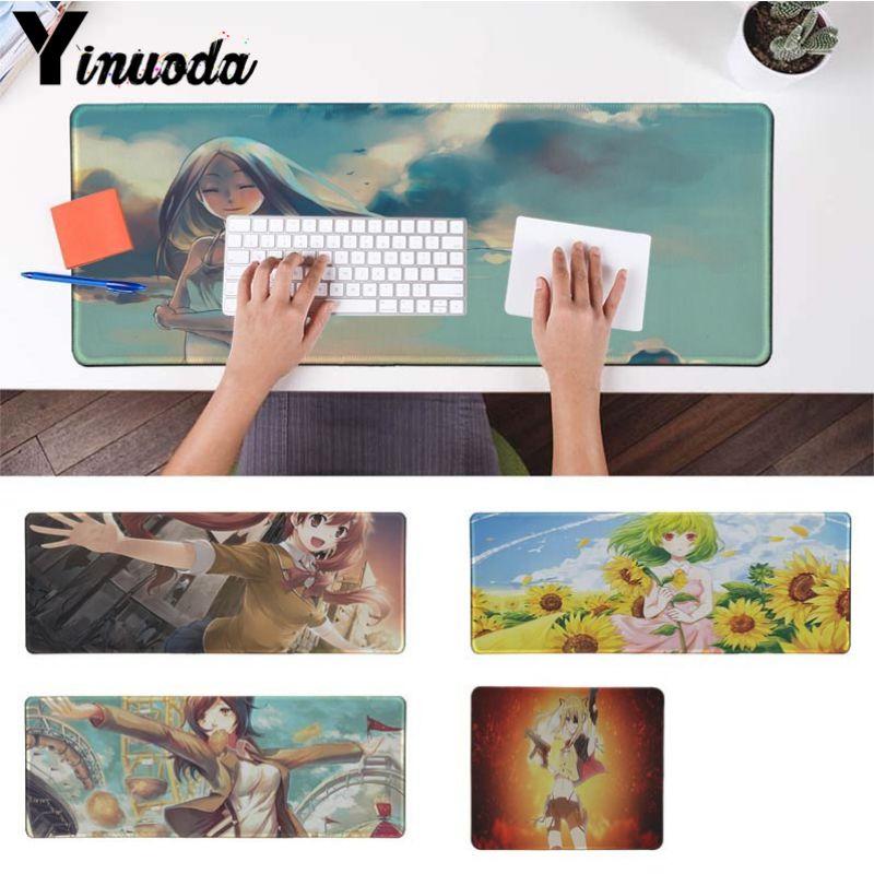Yinuoda скин аниме для офиса Мыши Gamer мягкие Мышь Pad Размеры для 18x22 см 20x25 см 25x29 см 30x90 см 40x90 см