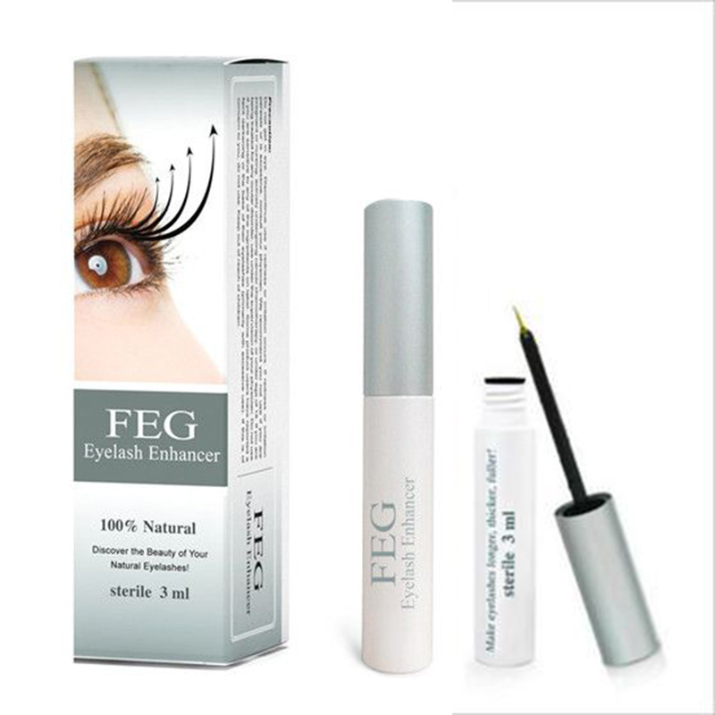 FEG Eyelash Enhancer Powerful Makeup Rapid Growth Eyelash Extension Thick Liquid Eyelash Serum Lash Lift Tool 100% Natural TSLM2