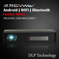 Portable DLP 3D Mini Projector With Android Bluetooth WIFI Home Theater Projector Beamer HDMI USB TV
