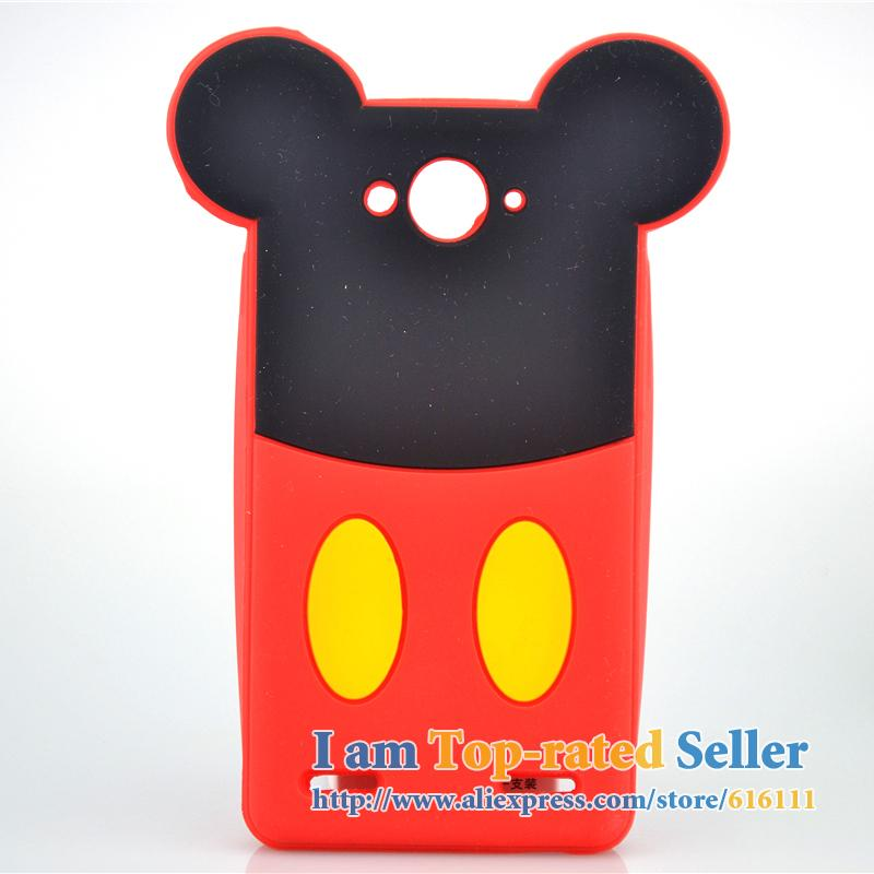 For ZTE Blade L3 Plus Case Cartoon Minnie Mickey Mouse Soft Silicone Cell Phone Cases Covers Case