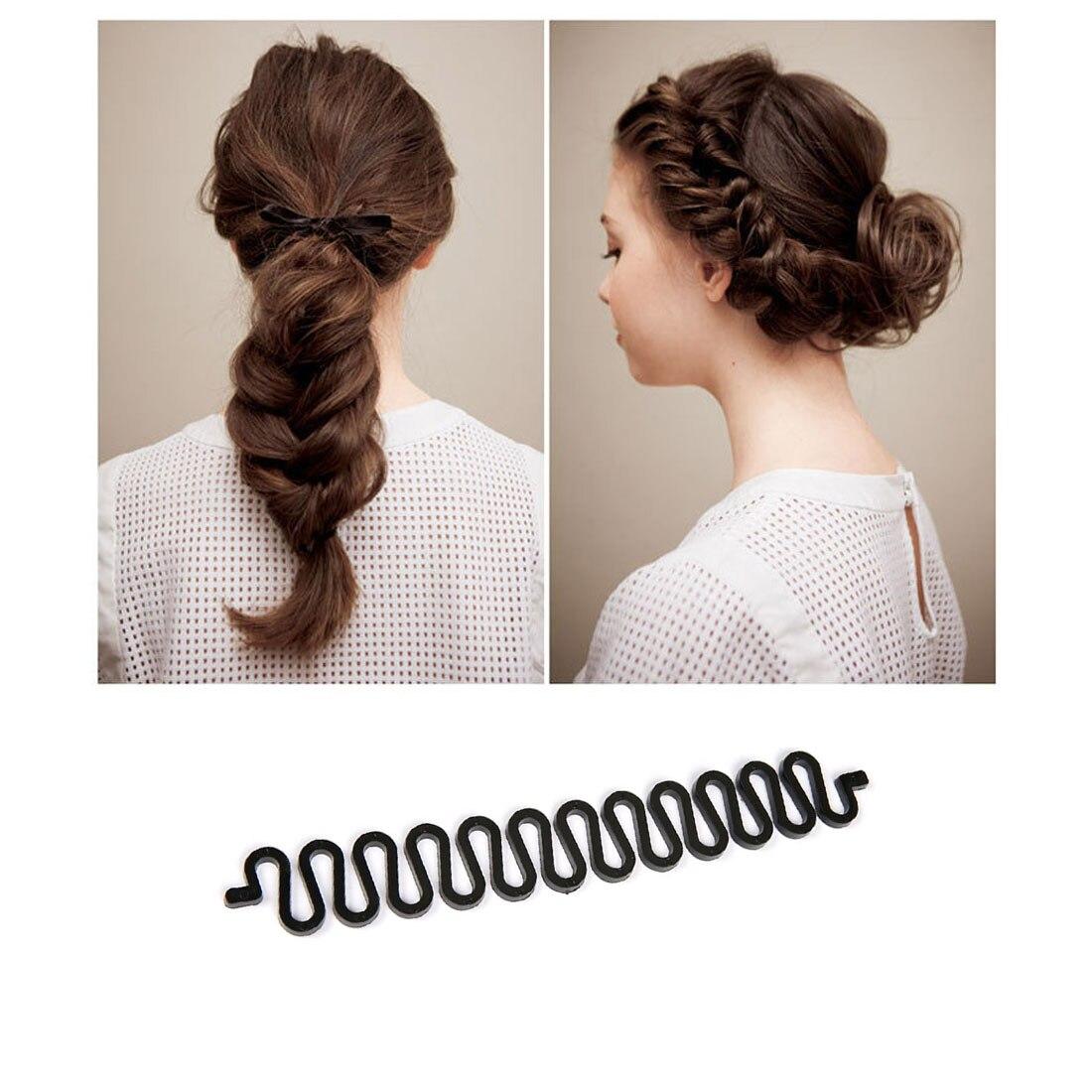 French Braiding Tools Magic Hair Clip Braider Stylist Queue Twist Plait Hair Braid DIY Hairstyle Styling Accessories заколка french twist