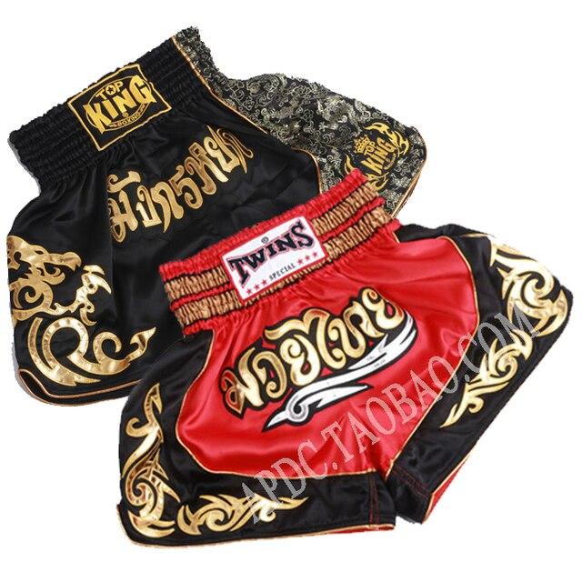 2017 Новое Прибытие мужская вышивка Тхэквондо Муай тай тайский Борьба Grappling MMA Шорты Бой шорты мма бесплатная доставка