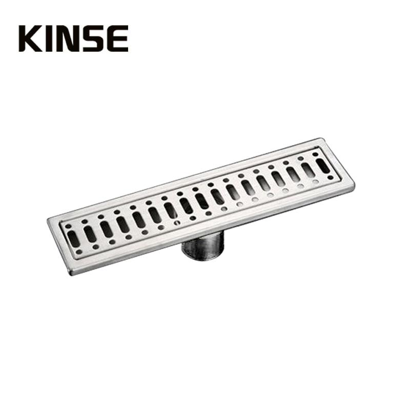 ФОТО Floor Drain Stainless Steel 304 Linear Bathroom Kitchen Shower Drain, Vertical Long Drain Floor Drains