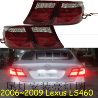 2006~2009year tail light for Lexus LS460 taillight car accessories LED DRL Taillamp for Lexus LS460 fog light