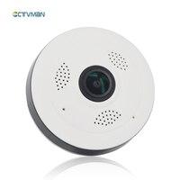 CTVMAN Mini Dome Wifi IP Camera Fisheye VR Panoramic 360 Degree 960P 1080P Wireless Micro Webcam