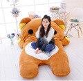 200cm X 150cm Cartoon Rilakkuma Beanbag Giant Soft Plush Bear Double Bed Carpet Tatami Sofa, Free Shipping