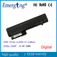 10.8V 55WH New Original Laptop Battery for HP Business Notebook 2400 2510p nc2400 EliteBook 2530p 2540P