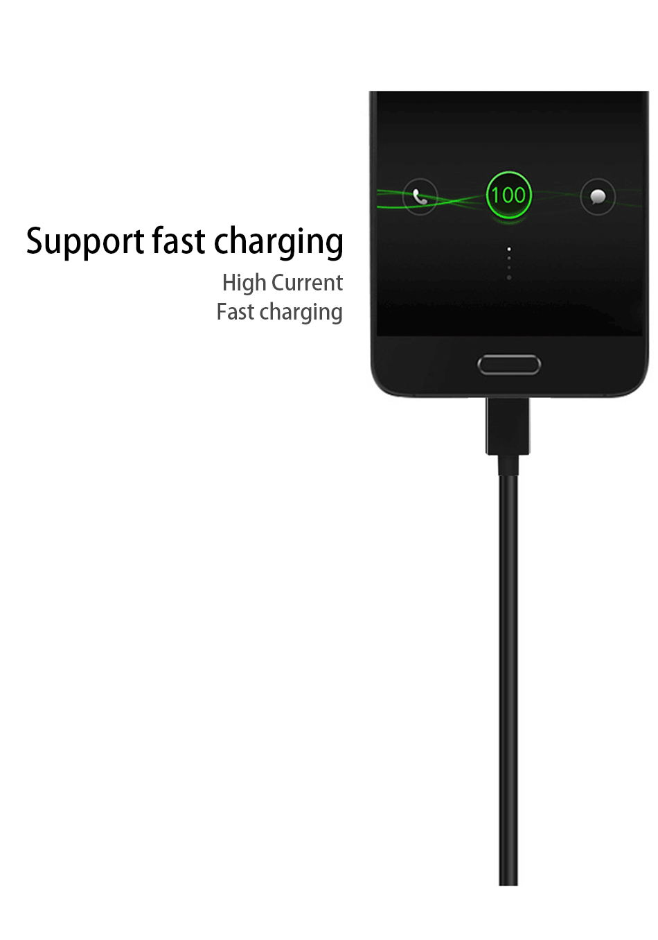 6Samsung S8 S9 plus 9V1.67A & 5V2A Original Fast Charger 1.2m USB Type C Cable Travel Adapter EUUSUK Note8 S 9 S8 C5 C7 C9pro_