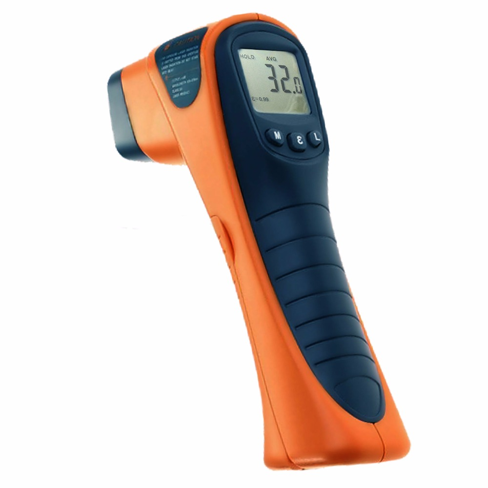 Handheld Digital Non-Contact IR Thermometer -13~1040 F -25~560 C Range 12:1 Distance Spot Ratio + Built-in Laser Pointer люстра подвесная mantra mara chrome white 1642 page 3