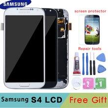 5,0 »ЖК-дисплей для SAMSUNG Galaxy S4 ЖК-дисплей с каркасом GT-i9505 i9500 i9505 i9506 i9515 i337 Сенсорный экран планшета