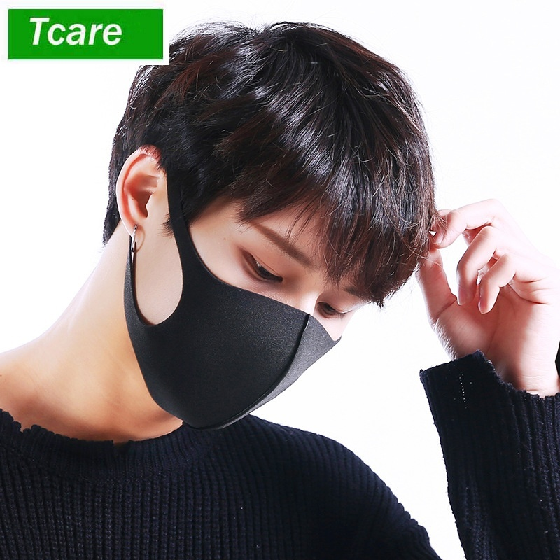 3Pcs/Lot 3D Anti-allergic PM2.5 Mouth Mask, New Fashion Dustproof Cold Virus Block Breathable Face Mask
