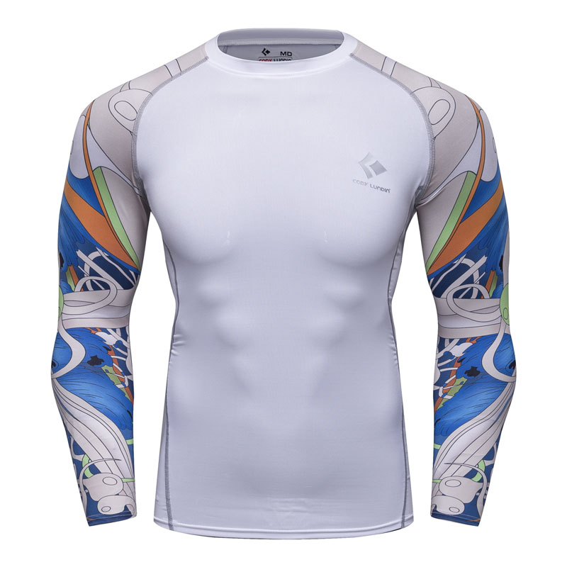 Men/'s Compression Base Layer Full Sleeve Top Long Sleeve Skin Fit Gym  Shirt