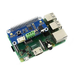 Image 5 - Звуковая шляпа Waveshare WM8960 Hi Fi, «карта» для Raspberry Pi Zero/Zero W/Zero WH/2B/3B/3B +, стереозвук, запись/запись