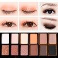 12 cores da paleta da sombra shimmer cor terra maquiagem requintado conjunto paleta nude naked paleta de contorno maquiagem