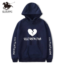 SLOUPPG Xxxtentacion Hoodie Sad Men Sweatshirts Rapper Hip Hop Hooded Pullover Sweatershirts Swag Hoody Cotton Revenge Kill