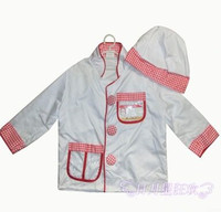 baby chef costume kid child chef costume halloween costume cook costumes performance unifrom cosplay