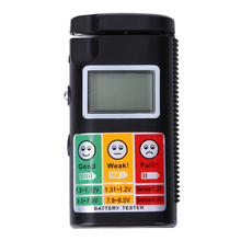 Digital Battery Tester 3 V 9 V 1.2 V To 1.5 V Battery Test Analyzer For Ni-H Battery NiCd Zinc Carbon Rechargable Battery