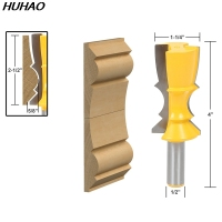 1pcs Large Reversible Crown Molding Router Bit 1 2 Shank